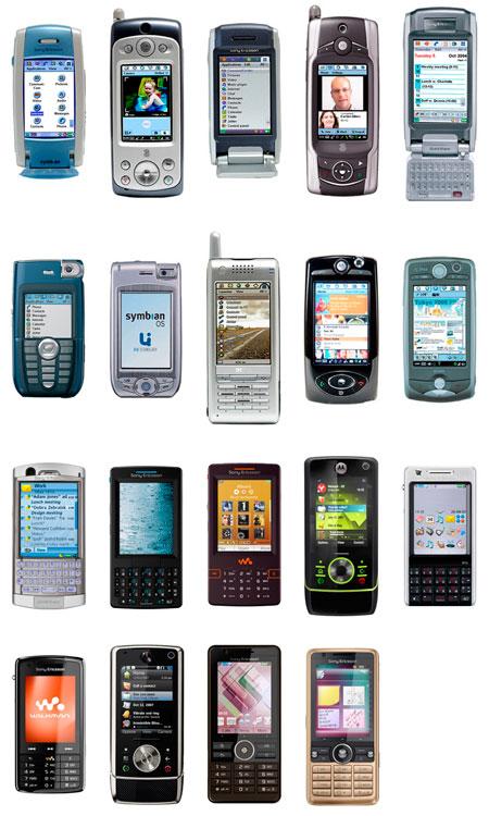 Família UIQ: ao todo, 19 aparelhos foram lançados